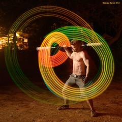 Rob (naturalturn) Tags: california longexposure light shirtless usa man night dance long glow dancing rob staff spinning pioneer 2012 longstaff firedrums staffspinning glowstaff lightstaff image:rating=4 robhazel image:id=127232 firedrums2012 sopiagosprings