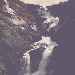 Kjosfossen, Flam Railway (woody lauland) Tags: nature norway landscape waterfall falls norwegian