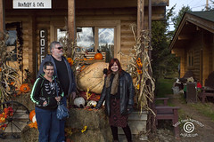 KakebekaFallsSM20141009_011 (DawnOne) Tags: autumn decorations copyright ontario canada birds giant pumpkin dawn bay cafe large moose falls linda hammond metropolitan thunder kakabeka