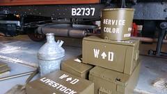 War Department prep for B2737 (London Transport Museum) Tags: bus london museum transport conservation restoration btype aec lgoc b2737