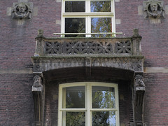 Amsterdam Huize St.Jacob (Arthur-A) Tags: netherlands amsterdam balcony balkon jacob nederland gable gevel