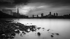 Thames (vulture labs) Tags: longexposure blackandwhite bw building london tower heron towerbridge norman foster sir riverthames renzopiano thegherkin leadenhall walkie talkie theshard vulturelabs irnd