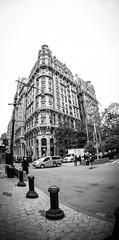 Ansonia--West 73rd Street (Ed Newman) Tags: newyorkcity blackandwhite newyork west architecture buildings side upper newyorkcityarchitecture newyorkblackandwhite newyorkbuildings newyorkcitybuildings