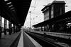Waiting for the Train... (mripp) Tags: white black germany deutschland frankfurt railway zug bahnhof railwaystation monochrom bahn sustainability mobility waitingforthetrain sustainabletransport schwatzweiss