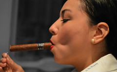 "Rosario, ""The Boss"" (Keltron - Thanks for 7 Million Views!) Tags: sexy louisiana pretty modeling neworleans cigar frenchquarter rosario prettygirl sexygirl girlsmokingacigar"