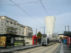 Marne (ernstkers) Tags: trolley tram lightrail streetcar tours tranvia elctrico tramvia citadis strasenbahn