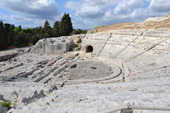 Syracuse, Sicile, théâtre grec (Jeanne Menjoulet) Tags: syracuse sicile théâtregrec parcarcheologique neapolis siracusa sicilia sicily italy