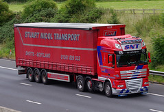 SNT Stuart Nicol Transport DAF XF 105 N60SNT (andyflyer) Tags: truck motorway lorry cumbria m6 trucking haulage hgv snt roadtransport wreay dafxf xf105 stuartnicoltransport n60snt