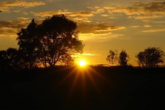 Sunset (annageddy) Tags: autumn sunset sky sun galway nofilter renmore