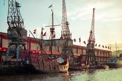 The Santa Maria (mawinter photo) Tags: docks bristol