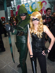 P1120776 (Randsom) Tags: nyc newyorkcity newyork costume couple mask cosplay convention heroine superhero comicbooks arrow dccomics blackcanary justiceleague javits 2014 jla greenarrow nycc superheroine newyorkcomiccon october2014 nycc2014 newyorkcomiccon2014