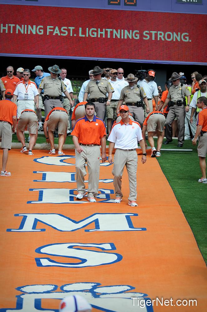 Clemson Photos: 2011, Football, Jake  Nicolopulos, troy