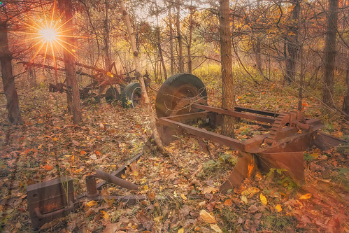 """Rusted Plow • <a style=""""font-size:0.8em;"""" href=""""http://www.flickr.com/photos/76866446@N07/15427190230/"""" target=""""_blank"""">View on Flickr</a>"""