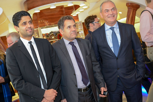 Inauguration du Emirates Club - Parc des Princes