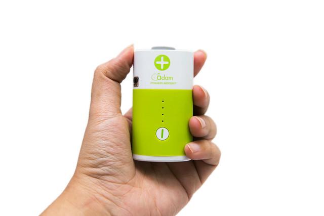 小巧性能強!亞果元素『AEP-6000BT Power Bella 電池造型行動電源』@3C 達人廖阿輝