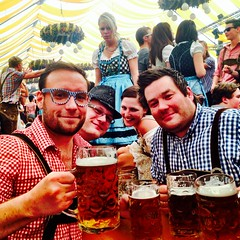 Having fun at The volksfest!