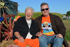 Theresa Irene Wolowski with her son James Ryan in the pumpkin patch of Windy Acres Farm in Calverton, New York (RYANISLAND) Tags: thanksgiving family autumn orange holiday fall halloween garden season pumpkin fun outdoors october fallcolor farm fallcolors 14 pumpkins farming seasonal samhain celebration squash pumpkinpicking celtic calabaza autumnal 31st happyhalloween equinox calabasas calabash 2014 calabazas orangecolor happythanksgiving autumnalequinox colororange october31st orangecolors ocheshamhna calabasse colorsorange oche 142014 samhainfestival celticholiday shamhna pickpumpkins thesamhainfestival