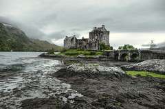 Game of Thrones? (10000 wishes) Tags: mist castle landscape grey scotland rocks scenic loch