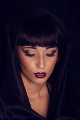2014-7029 (gm.photo) Tags: make up artist veil mesh smoking denim shorts vest shawl turban tatoo maleificent