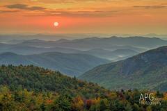 Lost Cove Sunrise (APGougePhotography) Tags: sun mountains detail sunrise nikon clarity blueridgeparkway blueridge topaz d600 denoise topazlabs nikond600 topazdenoise topazdetail topazclarity