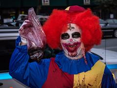 It - Zombie Crawl 2014 NYC (C@mera M@n) Tags: city nyc newyorkcity urban ny newyork color place unitedstates zombie manhattan places it undead ghoul hideous zombiecrawl
