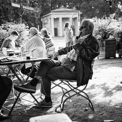 20141027-0209-Edit (www.cjo.info) Tags: people blackandwhite sunlight man berlin monochrome germany square blackwhite cafe smoke pipe oldman 11 panasonic software smoker technique brandenburg tiergarten deutchland geo:city=berlin strasedes17juni silverefexpro microfourthirds camera:make=olympusimagingcorp exif:make=olympusimagingcorp geo:countrys=germany geo:state=brandenburg exif:focallength=25mm exif:aperture=14 silverefexpro2 m43mount panasonicleicadgsummilux25mmf14asph exif:lens=leicadgsummilux25f14 nikcollection olympusomdem10 exif:isospeed=200 camera:model=em10 exif:model=em10 geo:lon=13348496666667 geo:lat=52514553333333