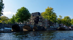 _DSC7352 (durr-architect) Tags: sky water amsterdam clouds buildings river boats historic canals monuments houseboats amstel