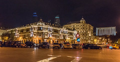 03.10.2014_00031.jpg (dancarln_uk) Tags: city travel architecture night centre baku azerbaijan flame baki azərbaycan baky
