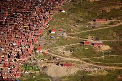 141002_SD-164 (daviddu*) Tags: sunset tibet 日落 西藏 四川 佛學院 色達 色達喇榮五明佛學院