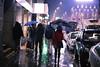 Milano (Riikka Neste) Tags: street november milan night umbrella canon lights milano 6d