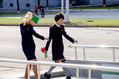 People on Sunday (Pyongyang hipster) (jonas_k) Tags: travel northkorea pyongyang dprk pjöngjang