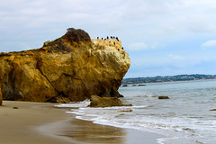El Matador State Beach, Malibu (regansully) Tags: world california beach nature landscape losangeles waves earth overcast malibu socal elmatador