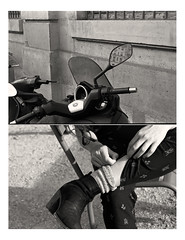 paris; in between (aweir [22]) Tags: street paris film analog 35mm nikon kodak tmax scan d76 tmax400