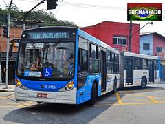 6 4135 Vip (busManíaCo) Tags: blue bus buses azul mercedesbenz ônibus articulado o500ua busmaníaco vipjabaquara nikond3100