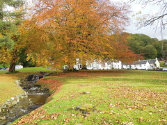 Altskeith Country House on Loch Ard (Vijay_ktyely) Tags: autumn house tree scotland stream country loch ard altskeith