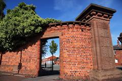 Through The Doorway (David Chennell - DavidC.Photography) Tags: bricks ivy doorway birkenhead wirral merseyside shoreroad