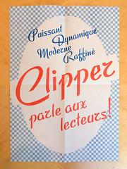 ESAD FTF Specimen Poster Clipper (frankrolf) Tags: clipper ftf fonderietypographiquefrançaise ésad type:face=clipper