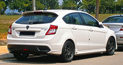 white car s turbo malaysia 16 hatch r3 premium proton solid hatchback 5door cyberjaya aftermarket 2014 bodykit gxr suprima racerallyresearch p322a