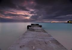 a saída do meu quarto :) (João Pedro Sousa Cruz) Tags: travel sea beach water night stars landscape nikon room tokina nd filters maldives d90