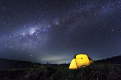 Milkyway at Buyan Lake (Made Suwita Photography) Tags: bali lake night indonesia star milkyway buyan