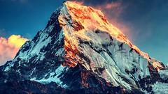 Mount Annapurna, Nepal (SOVS43) Tags: nepal mountannapurna