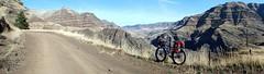 Imnaha to Dug Bar in Hells Canyon (Doug Goodenough) Tags: november camping fall bike bicycle bar oregon river climb ride snake 14 spokes canyon pedals imnaha 29 dug surly gravel steep hells 2014 puglsley krampug drg53114 drg53114p drg53114pdugbar drg531pkrampug