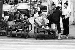 Awaiting Customers (johey24) Tags: china street people blackandwhite bw james us raw shanghai candid culture crowds peoplewatching oldshanghai photowalks entertainingourselves foreignersinshanghai baoshandistrict chinaisafriendlyplace