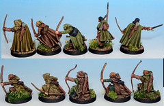 Empire scouts / huntsmen (whirling_dervish) Tags: 28mm lotr empire scouts warhammer rangers huntsmen whfb madponies