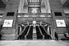 Grand Central Terminal (dansshots) Tags: nyc newyorkcity blackandwhite cityscape manhattan midtown grandcentral bigapple bnw grandcentralterminal 42ndstreet iloveny thebigapple mynyc midtownnewyork mynewyork dansshots