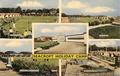 Seacroft Holiday Camp, Hemsby (trainsandstuff) Tags: vintage postcard norfolk retro archival pontins holidaycamp hemsby seacroft fredpontin