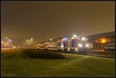 18-11-2014, Amsterdam Houtrakpolder, VR 203-5 + NSR DDZ (Koen langs de baan) Tags: amsterdam v100 amf vr 203 volker nsr hrp 2035 volkerrail stevin 51923 ddz houtrakpolder tussenrijtuigen