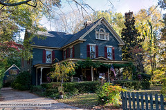 Victorian home in Wake Forest (AL904) Tags: northcarolina oldhouse stickstyle victorian wakeforest architecture unitedstates
