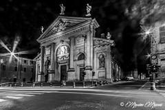 PIACENZA - Chiesa di Sant'Agostino (massimo mazzoni 78) Tags: night lights luci piacenza notte notturno rinascimento