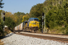 CSX Q041-02 at NE Emerson (travisnewman100) Tags: csx freight railroad locomotive atlanta division wa subdivision owa siding signals intermodal tropicana juice refers q041 jacksonville florida emerson ac44cw yn2 ge train